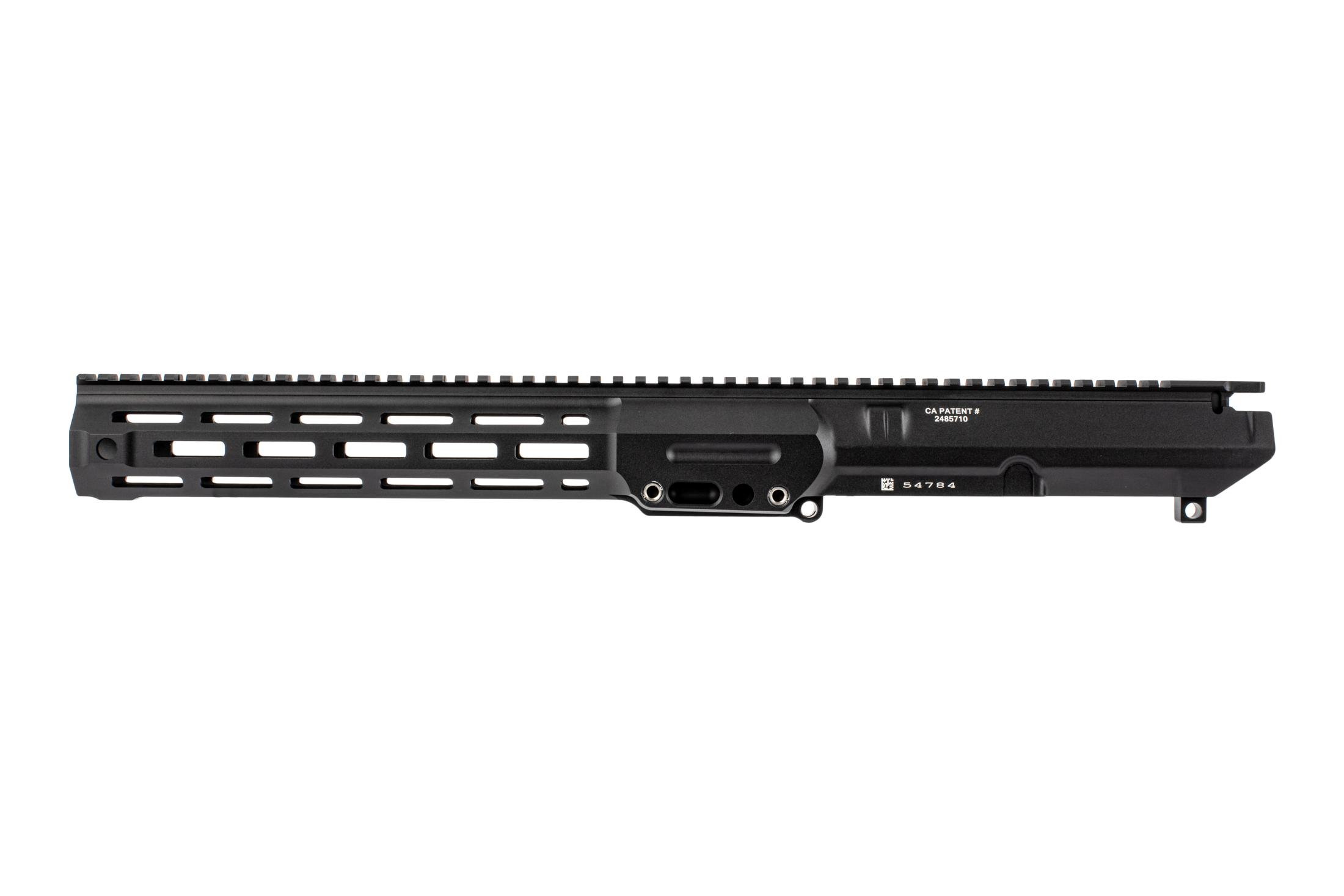 The Lewis Machine & Tool MWS .308 upper receiver features a T-marked M-LOK rail handguard