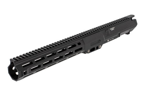 The LMT AR10 M-LOK upper receiver assembly features QD sling swivel slots