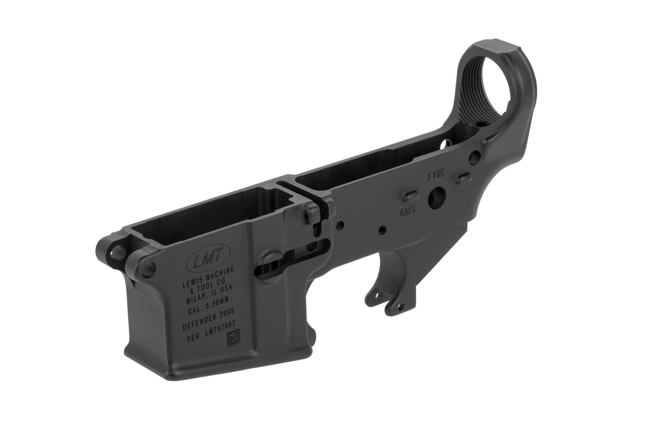 The LMT Defender 2000 ar-15 lower is compatible with Mil-Spec lower parts