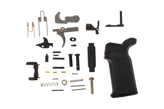 Sionics Deluxe AR 15 lower parts kit LPK features an ambidextrous safety selector and K2 pistol grip