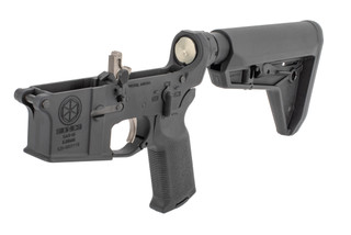 Sionics Complete AR 15 lower receiver features an ambidextrous safety selector