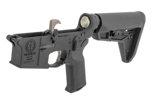 Sionics AR15 complete lower receiver group features an ambidextrous safety selector