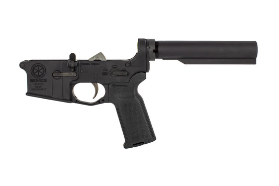 Sionics Weapon Systems AR-15 complete lower receiver group is forged from 7075-T6 aluminum