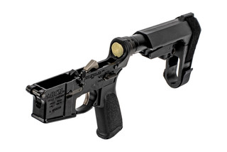 Bravo Company Manufacturing complete AR-15 pistol lower with SB Tactical SBA3 pistol arm brace