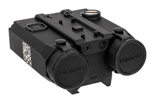 LS420G Green Laser sight with IR illuminator and LED Flashlight from Holosun features a 7075 aluminum body