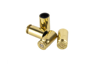 Lucky Shot USA .40 Caliber valve stems are made from genuine once-fired .40 S&W brass to add some flair to your truck!
