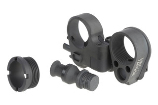 The Law Tactical AR Folding Stock Adapter Gen 3-M for ar15 and ar308 includes bolt carrier extension and castle nut