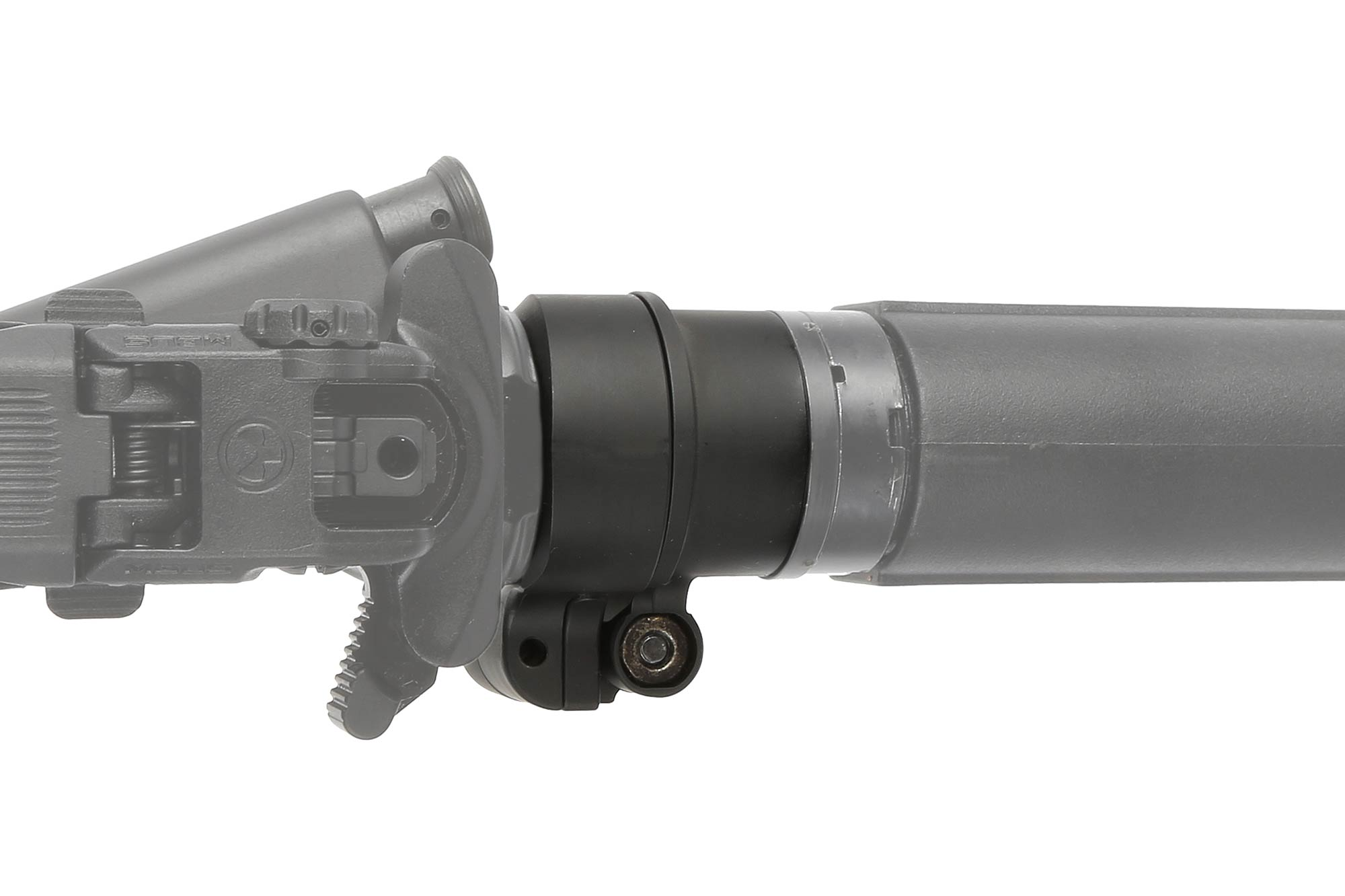 The Law Tactical AR Folding Stock Adapter Gen 3-M for ar-15 and ar308 has a quick detach sling attachment point