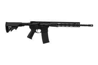 LWRC Individual Carbine Direct Impingement AR15 features a 16 inch spiral fluted barrel