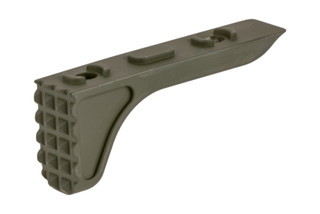 The Timber Creek Outdoors M-LOK Rugged Barricade Stop features an OD Green Cerakote finish