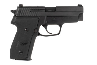 SIG Sauer P229 M11-A1 9mm compact pistol features a 3.9 inch barrel