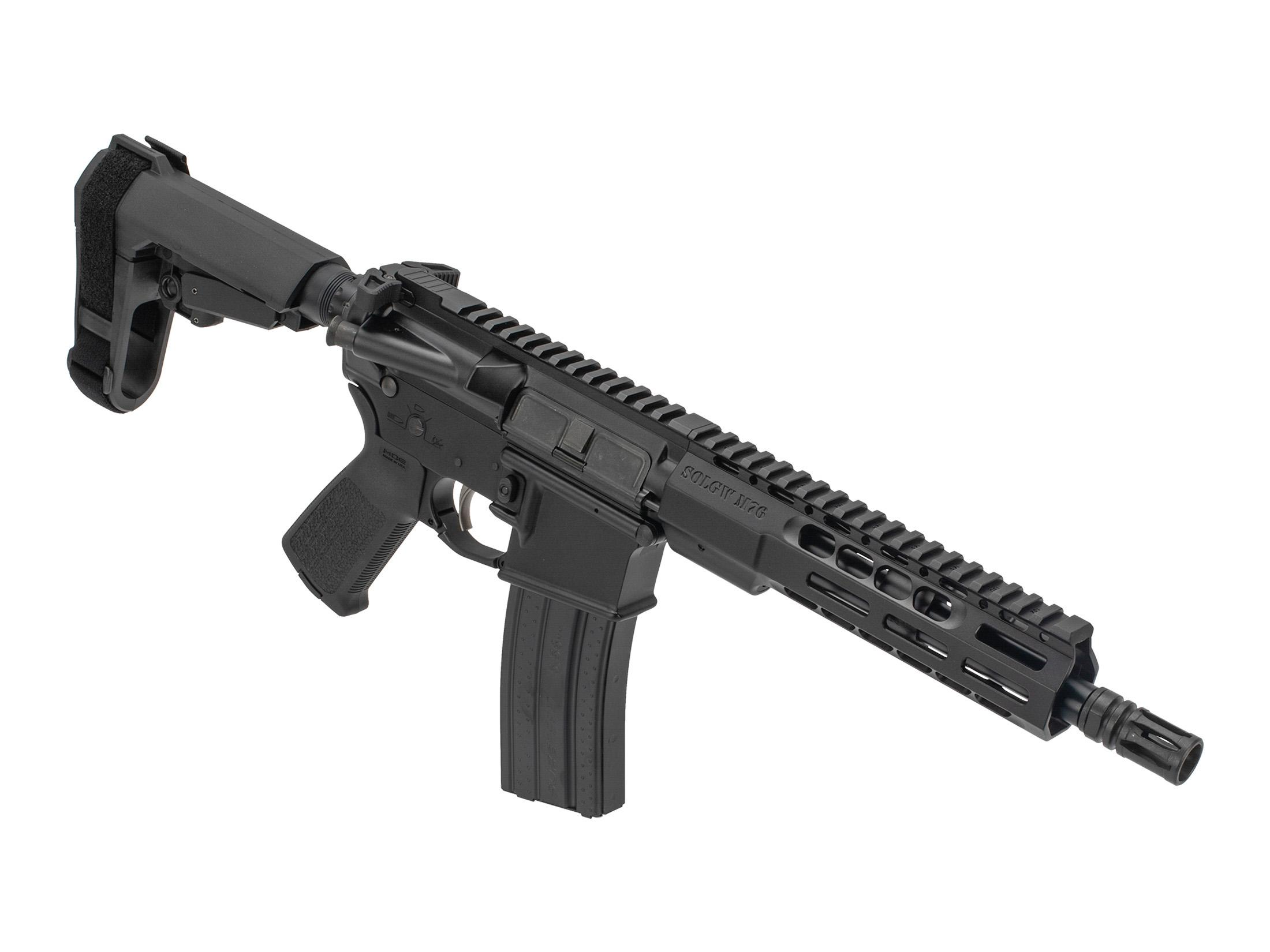 Sons of Liberty Gun Works M4-76 300 BLK Pistol with SBA3 - 9