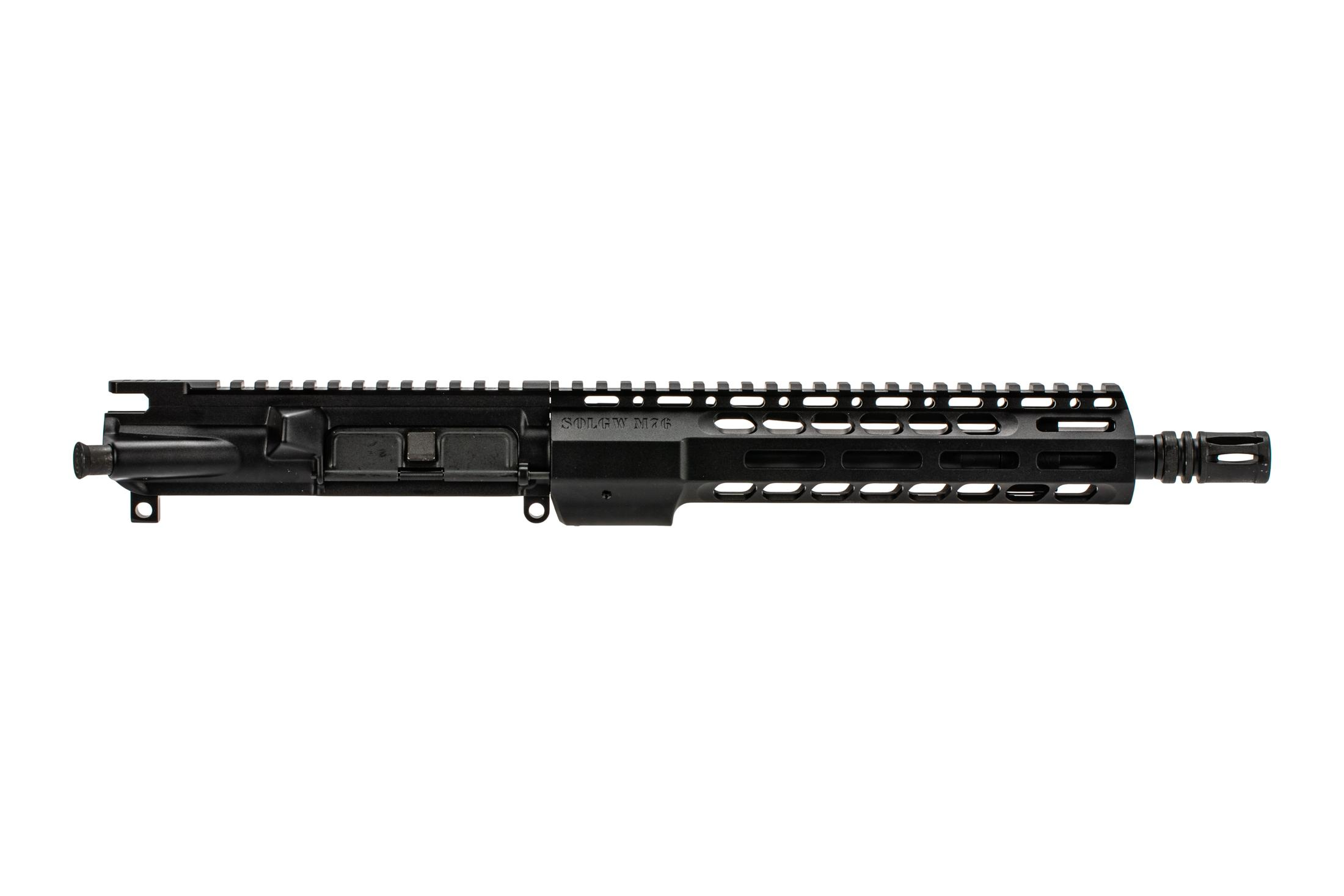 SOLGW 10.5 M4-76 AR-15 barreled upper with Government contour 5.56 barrel and MLOK handguard