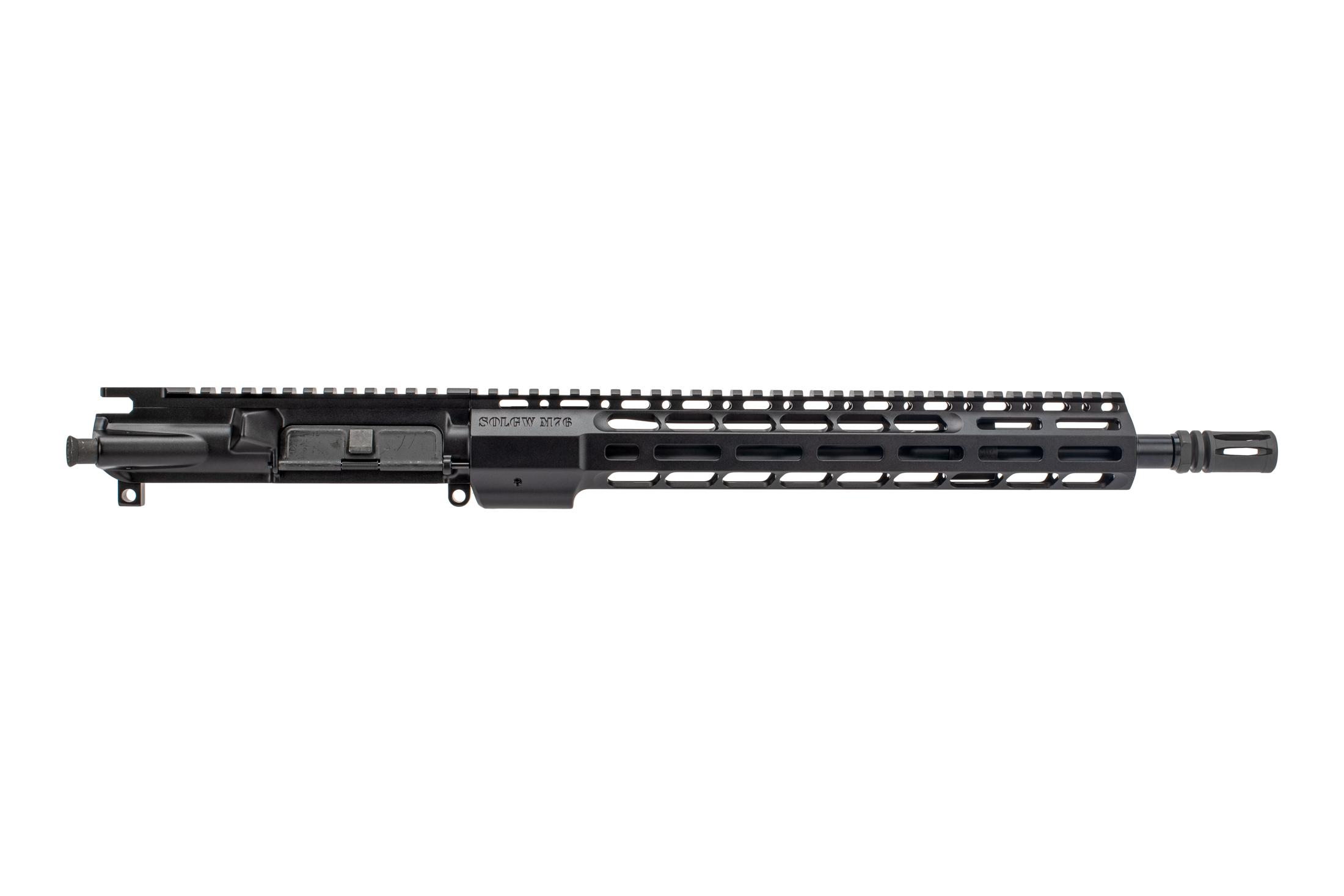 SOLGW M476 AR-15 barreled upper receiver is chambered in 5.56 NATO