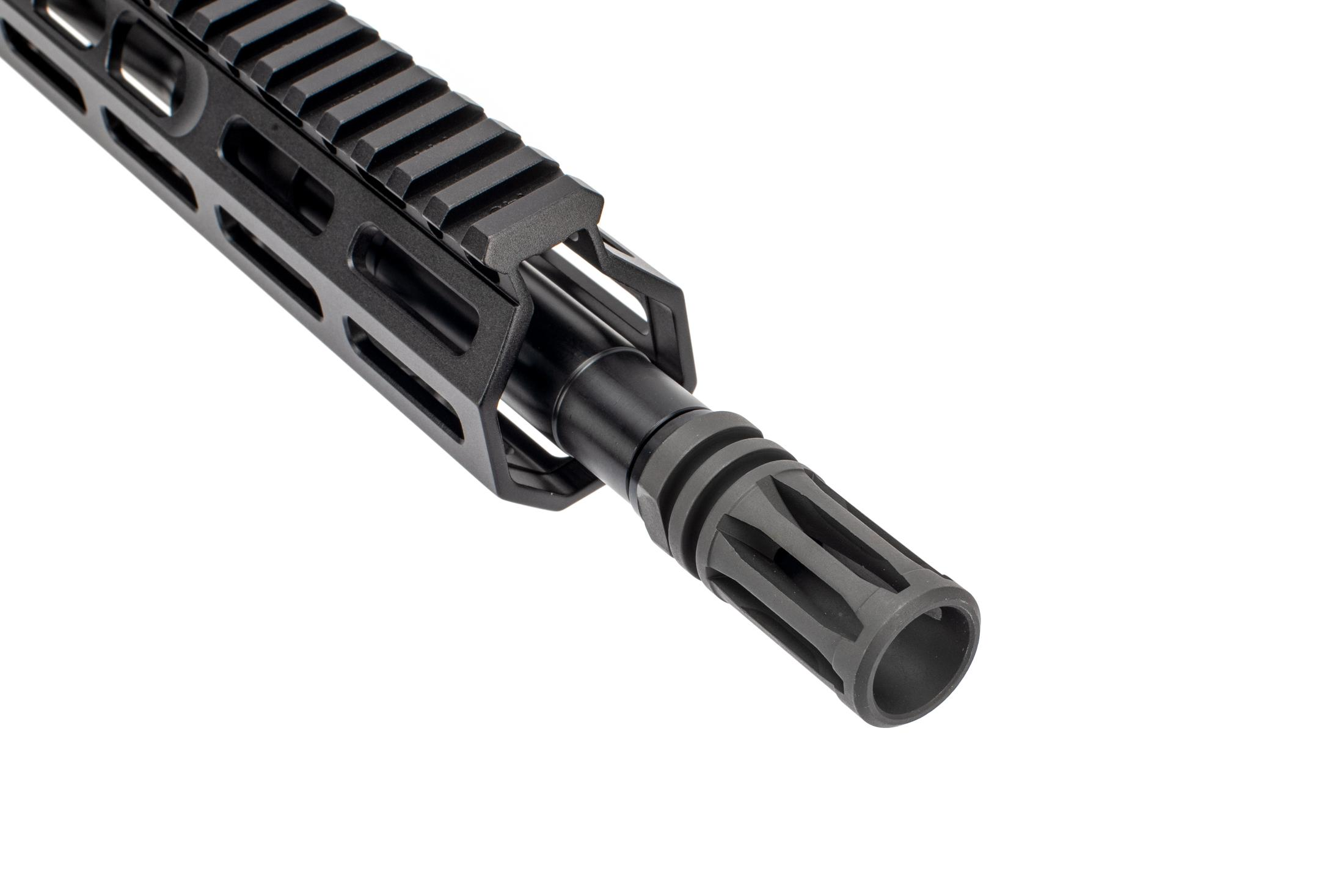 Sons of Liberty Gun Works Barreled AR 15 upper receiver group features the M4-76 handguard