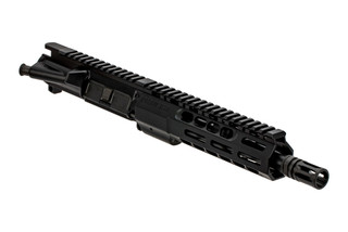 "Sons of Liberty Gun Works 9"" M4-76 barreled AR-15 upper receiver in 300 blk with A2 flash hider."