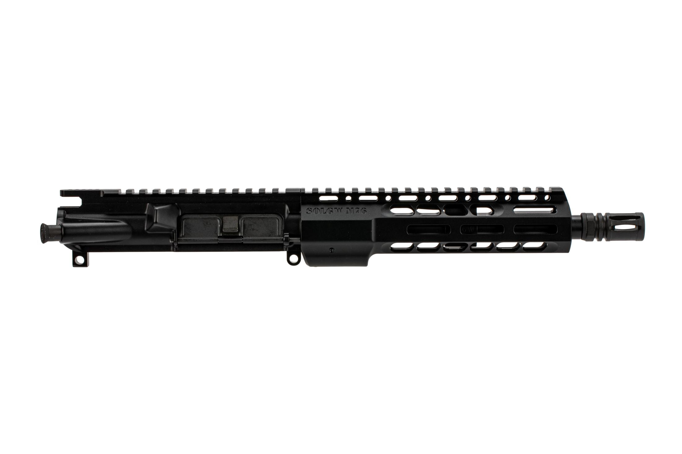 SOLGW M4-76 9 barreled upperfor the AR-15 in 300 blk with pistol length gas system