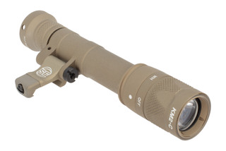 SureFire M640V Infrared Scout Light Pro Weapon Light Is hardcoat anodized tan and features an integral mount