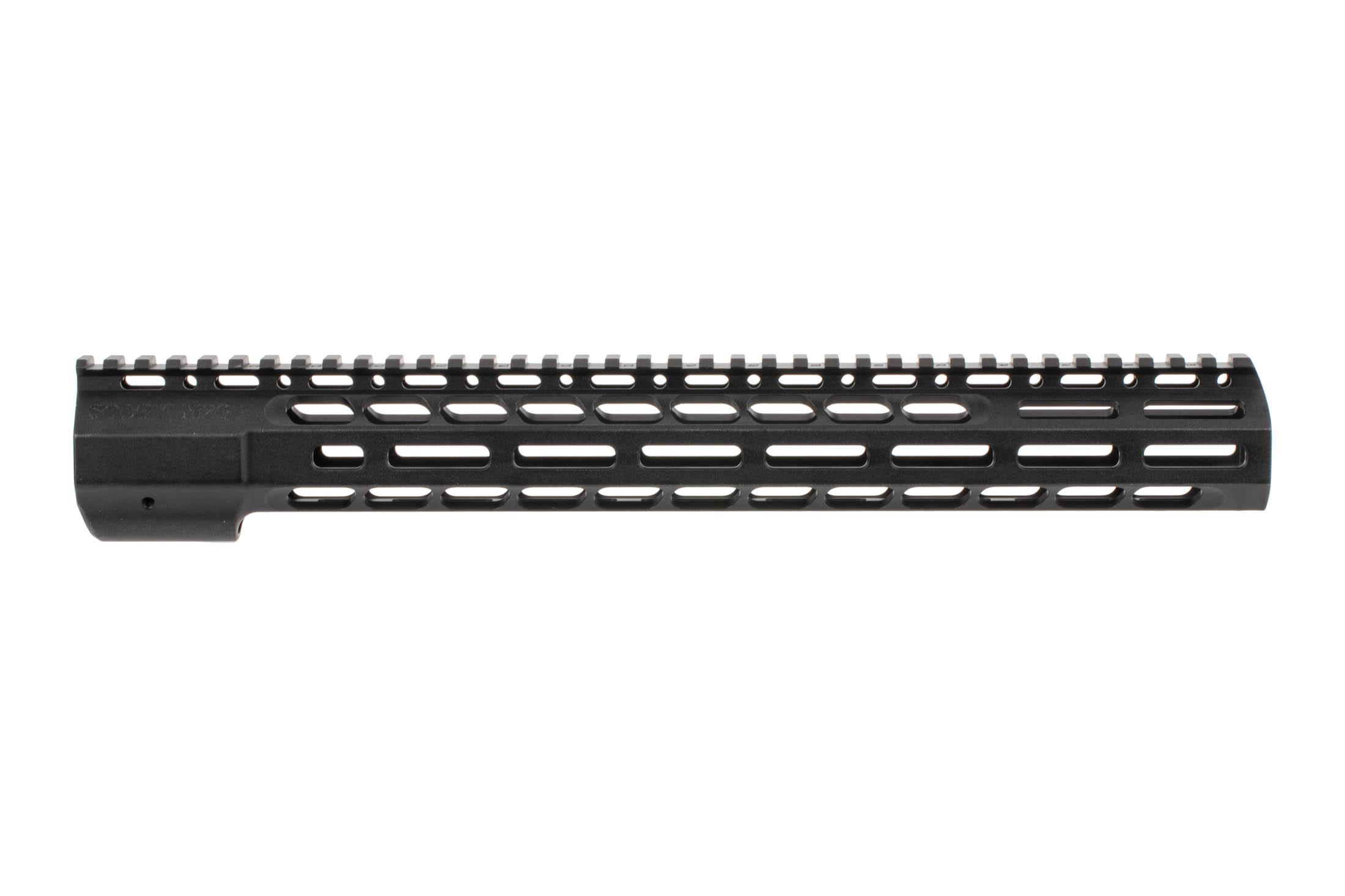 The SOLGW M76 Wedgelock 15 Handguard is machined from aluminum and features a black anodized finish