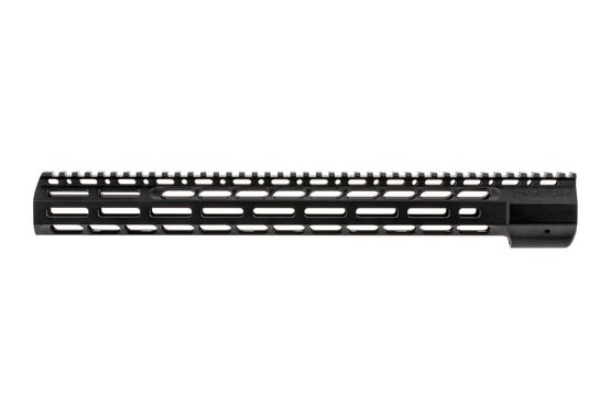 The SOLGW M76 M-LOK Handguard features a black hardcoat anodized finish