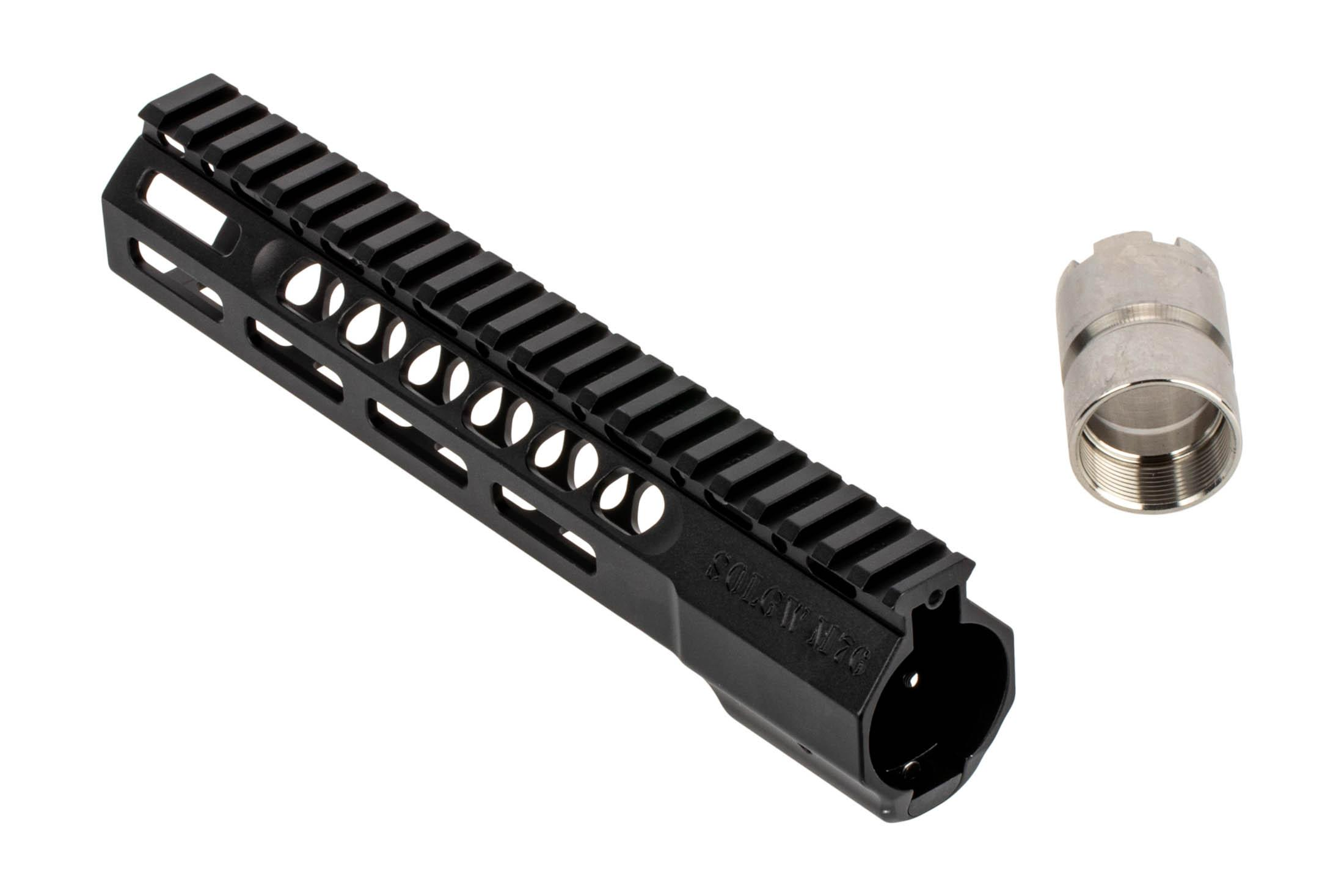 The Sons of Liberty Gun Works M76 free float handguard comes with a 4140 steel barrel nut