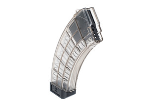 US Palm AK47 polymer magazine features clear polymer