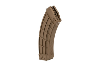 US Palm AK30 AK47 magazine is made from flat dark earth polymer