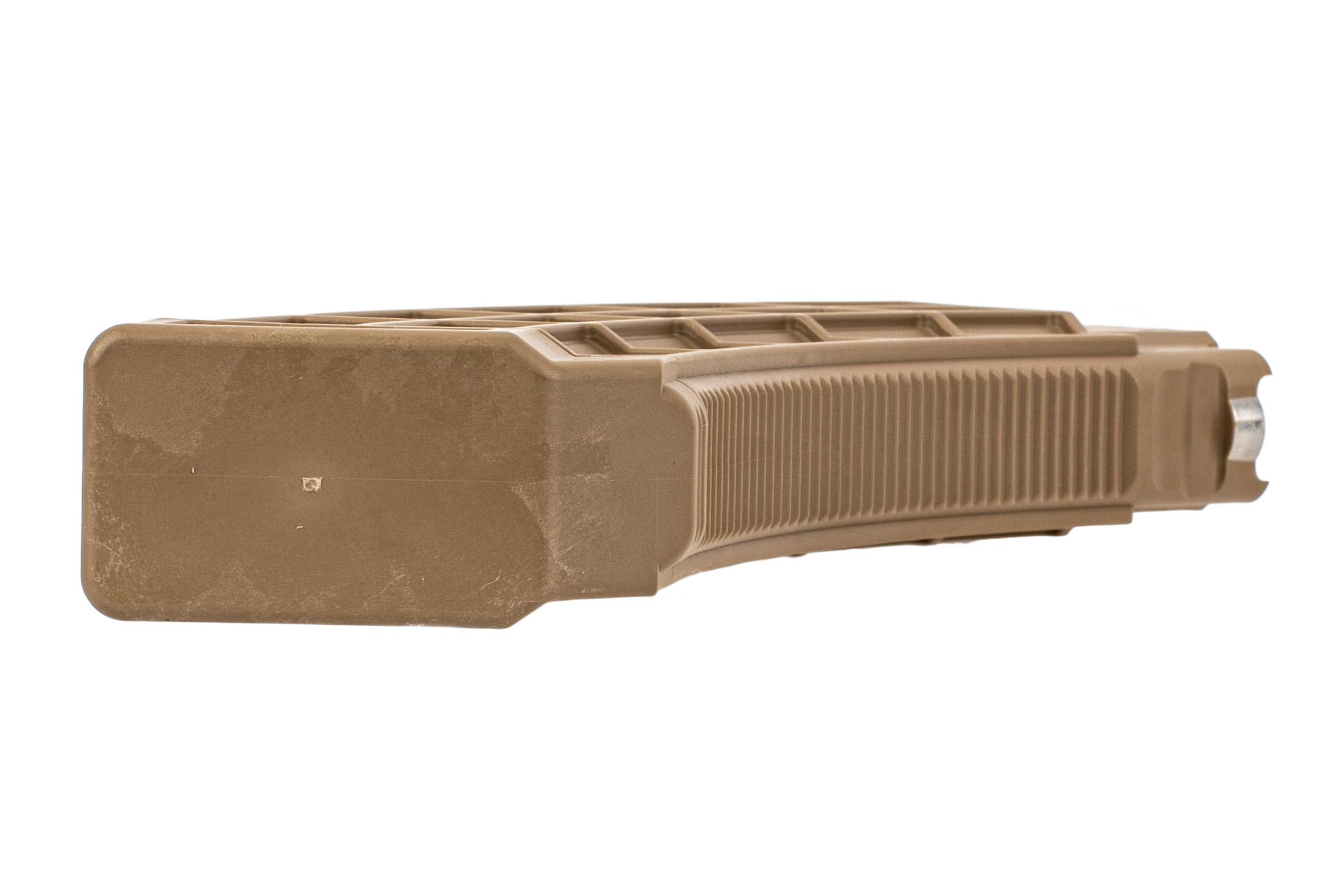 US Palm AK 47 30 round magazine FDE is heavily textured for better grip