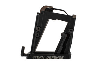 The Stern Defense MAG-AD9 magazine conversion block is designed for use with 9mm and 40 caliber Glock mags