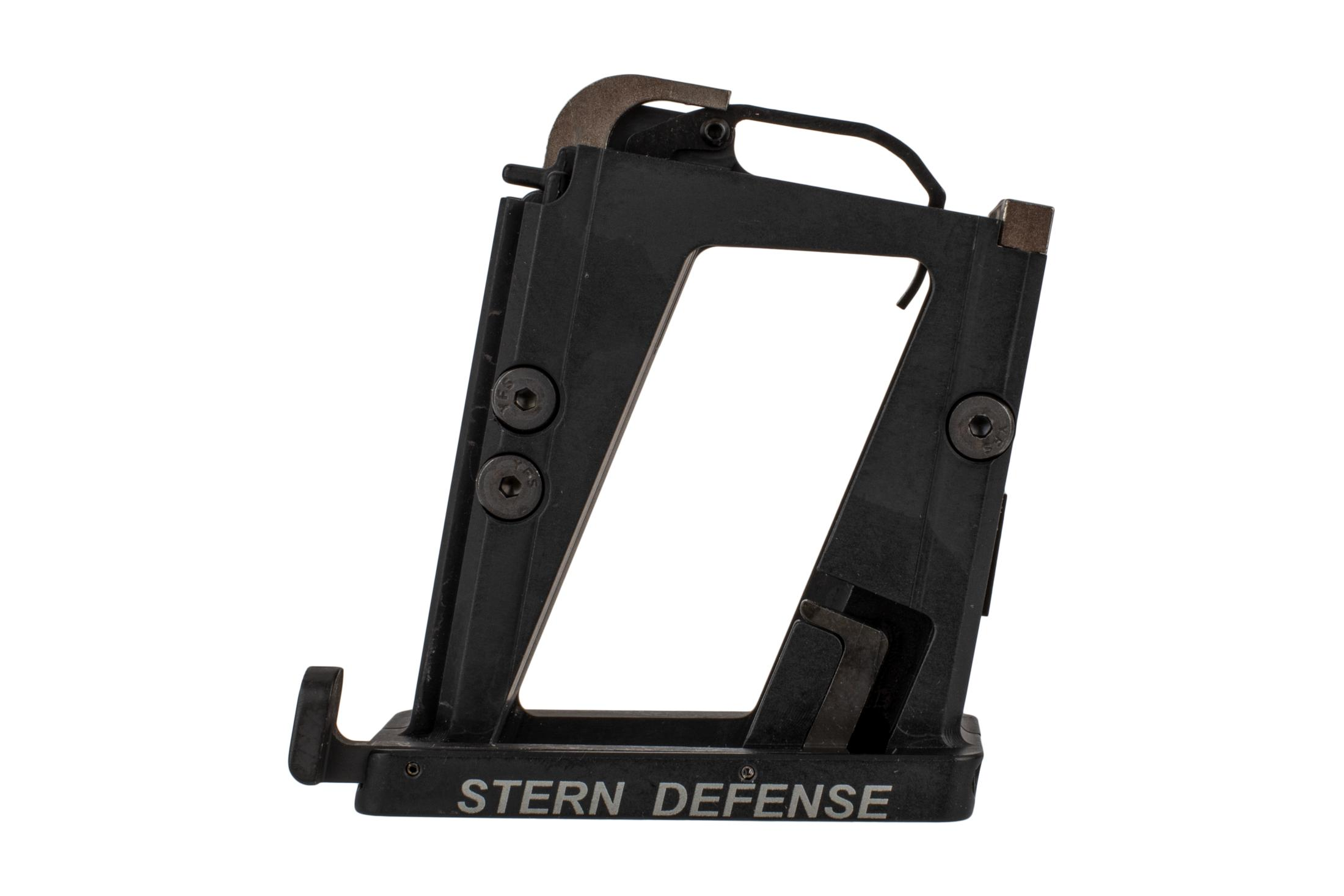 The Stern Defense Beretta 92 magazine adapter is compatible with mil-spec ar15 lower receivers