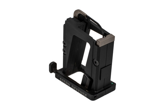 The Stern Defense 9mm conversion block is constructed from 6061-T6 aluminum