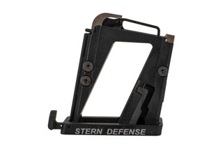 The Stern Defense Magazine conversion block for AR15 is compatible with p320, p250, and M&P mags
