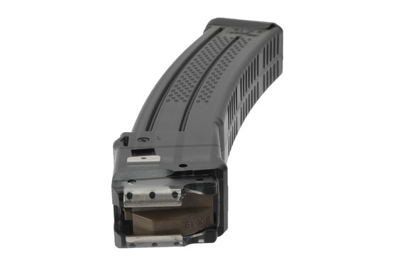 SIG MPX 30 round magazine features steel reinforced feed lips