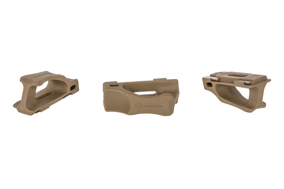 Magpul USGI Ranger Plates protect your mags from drops and provide a handy pull tab. 3-pack of FDE plates.