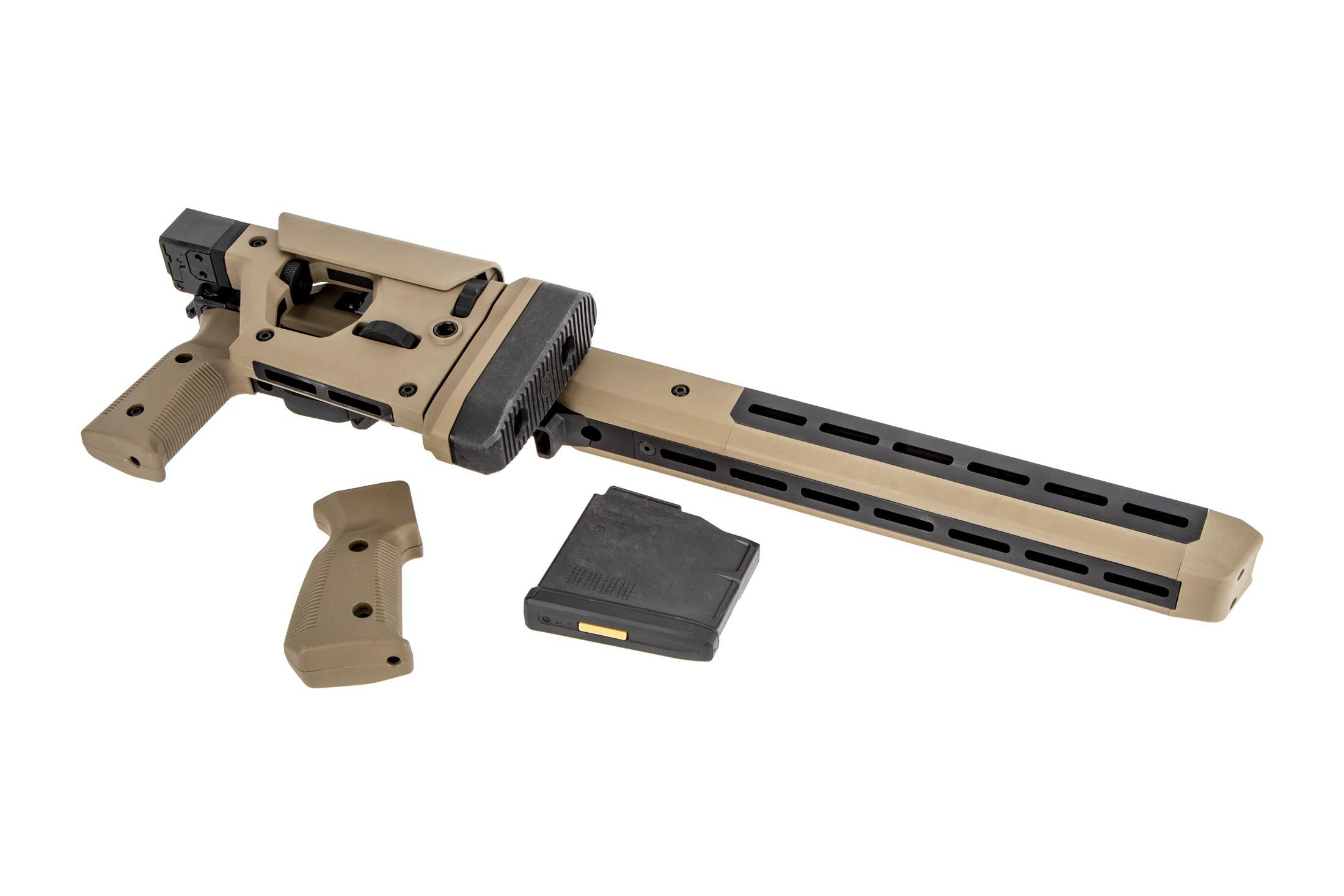Magpul Pro 700L Chassis Long Action Folding Stock - Flat Dark Earth