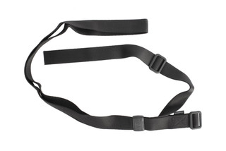 Magpul black Rifleman Loop Sling has lightweight Acetel hardware and a minimalist design inspired by 1907 and Rhodesian sling patterns