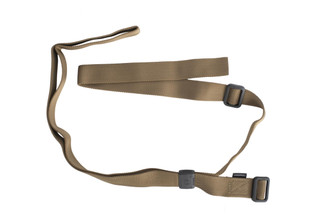 Magpul coyote Rifleman Loop Sling has lightweight Acetel hardware and a minimalist design inspired by 1907 and Rhodesian sling patterns