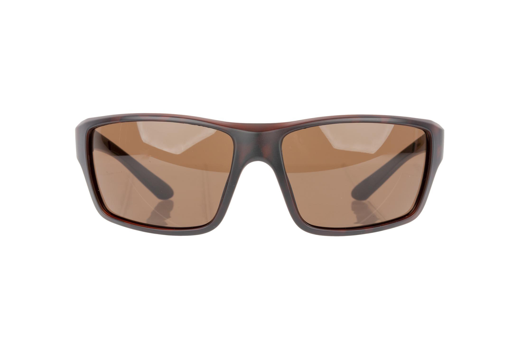 Magpul Summit safety glasses gray frame and Bronze polarized lenses are made from TR90ZZ theromplastic for exceptional durability