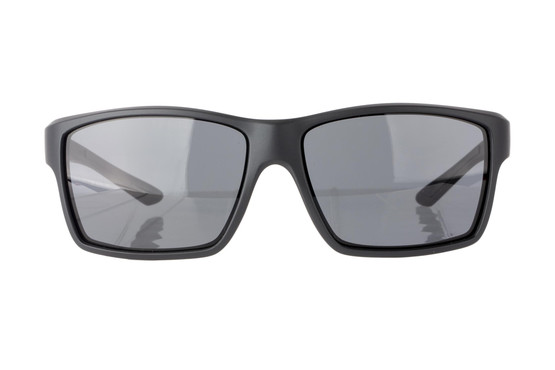 Magpul Summit safety glasses Black frame and Gray lenses are made from TR90ZZ theromplastic for exceptional durability