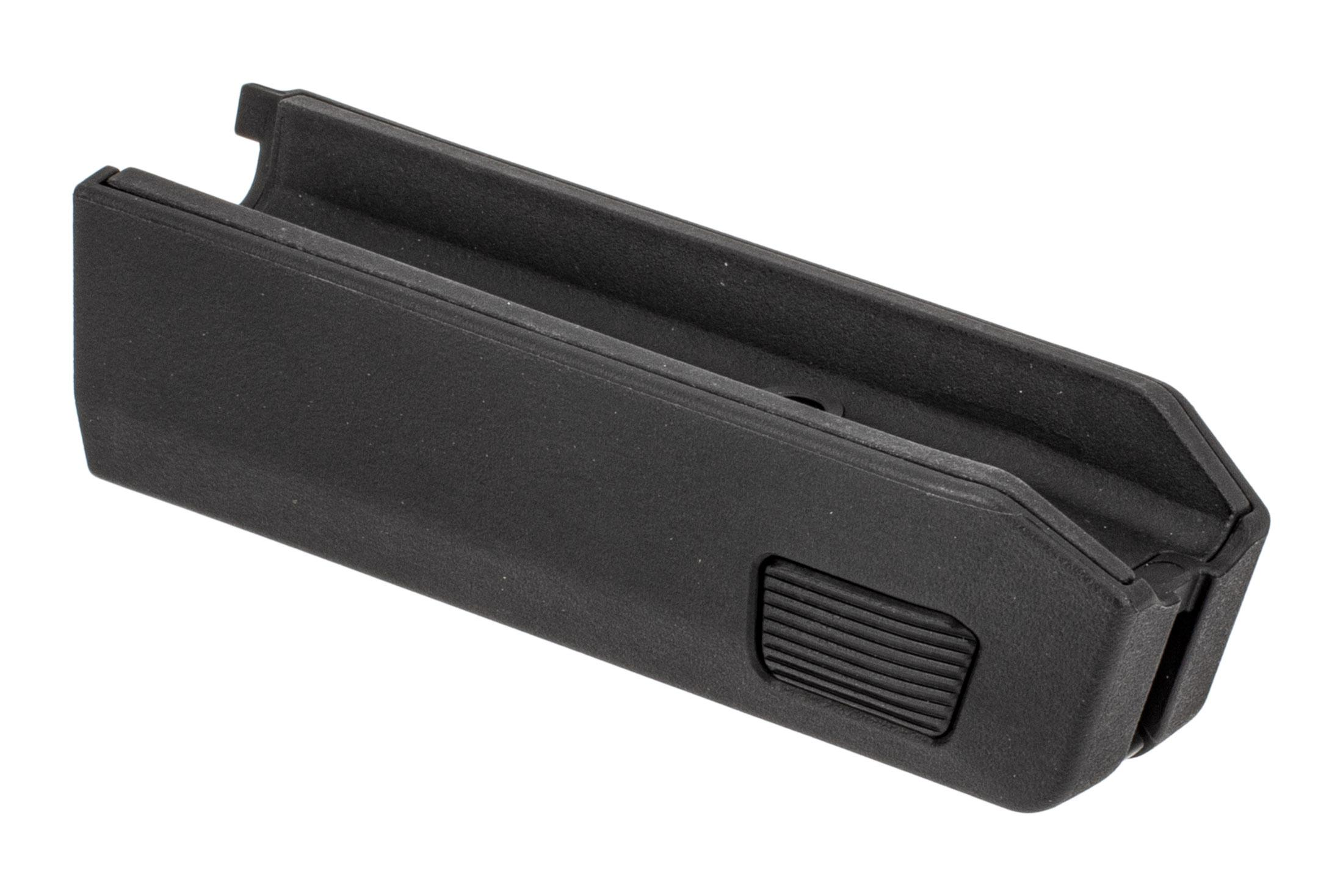Magpul Backpacker X22 Takedown forend is made from black polymer
