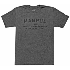 Magpul Quality Go-Bang Parts Short Sleeve T-Shirt in Charcoal Heather Grey