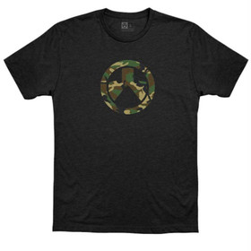 Magpul Woodland Camo Logo Short Sleeve T-Shirt with screen printed design