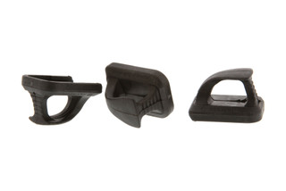 The Magpul SpeedPlate magazine floorplates for Glock 9mm magazines comes in a pack of 3. Made from black polymer