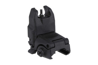 The Magpul MBUS flip up front sight is made from durable black polymer