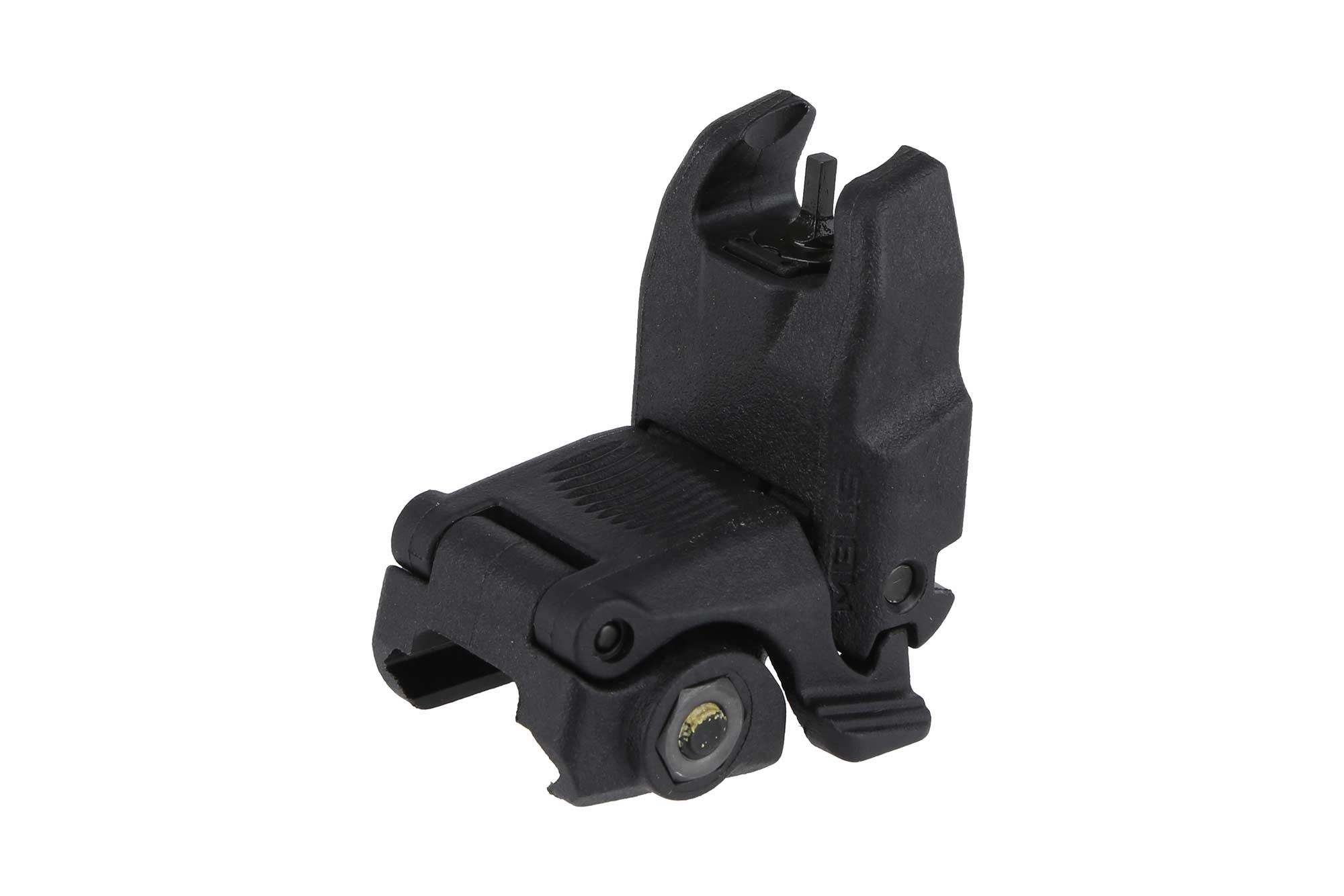 The Magpul MBUS polymer front sight features an integrated picatinny rail mount