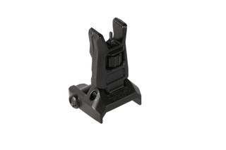 The Magpul MBUS Pro front sight is made from steel with a Melonite black finish