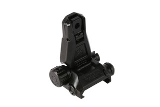 The Magpul Pro rear sight is made from steel with a Melonite black finish