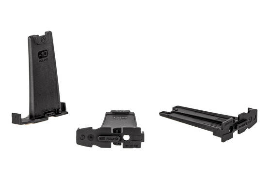 Magpul 10-Round limiters are reduce the capacity of 20 and 30-round 5.56 PMAGs by 10. 3 pack of black.