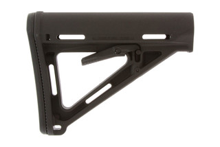 This buttstock by Magpul is the MOE Carbine Stock for Mil-Spec ar15 6 position buffer tubes.