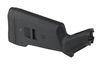 The Magpul SGA Mossberg 500 shotgun stock is highly versatile and made from high strength polymer